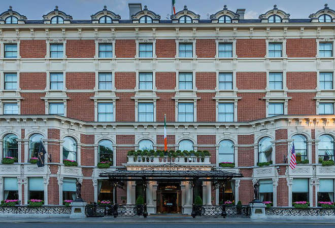 Hotel Gift Vouchers for Shelbourne Hotel Dublin